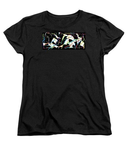 Wish - 39 Women's T-Shirt (Standard Cut) by Mirfarhad Moghimi