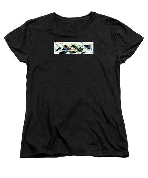 Wish - 58 Women's T-Shirt (Standard Cut) by Mirfarhad Moghimi