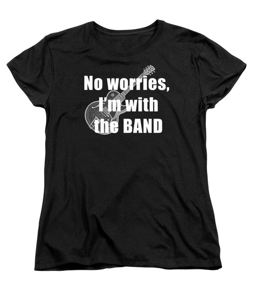 With The Band Tee Women's T-Shirt (Standard Cut) by Edward Fielding