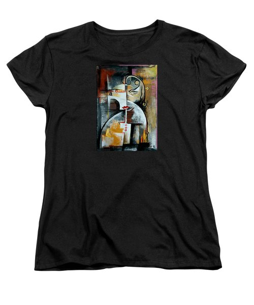 Woman Women's T-Shirt (Standard Cut) by Kim Gauge