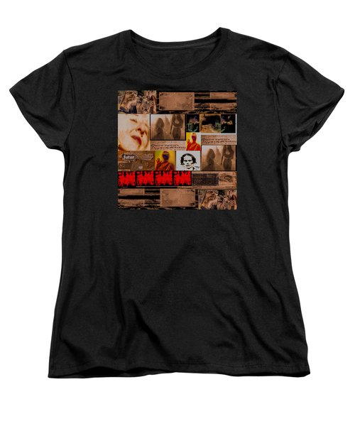 Women's T-Shirt (Standard Cut) featuring the photograph Woman Power Story by Danica Radman