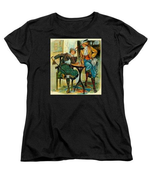 Woman's Club 1899 Women's T-Shirt (Standard Cut) by Padre Art