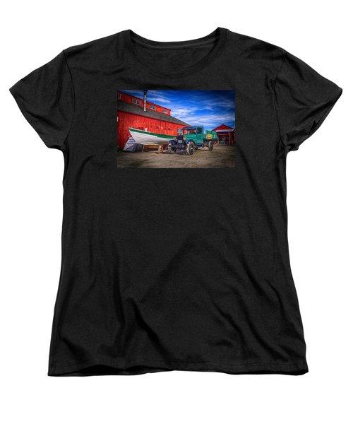 Work Truck, Mystic Seaport Museum Women's T-Shirt (Standard Cut)