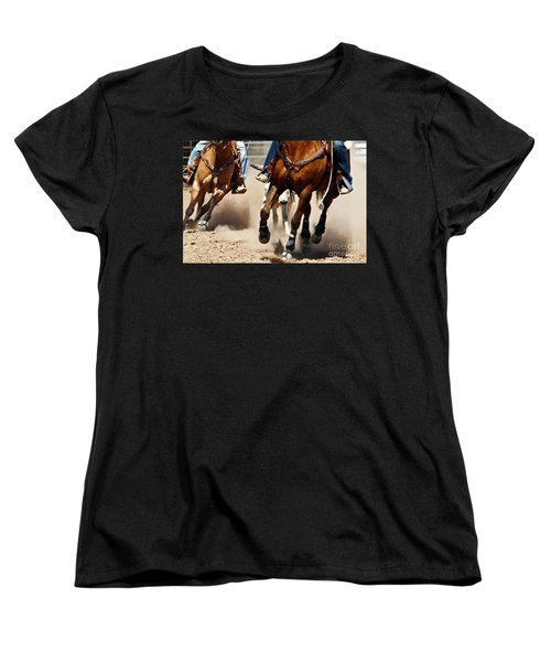Working Women's T-Shirt (Standard Cut) by Kathy McClure