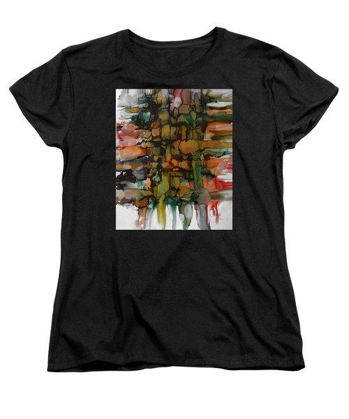 Woven Women's T-Shirt (Standard Cut) by Alika Kumar