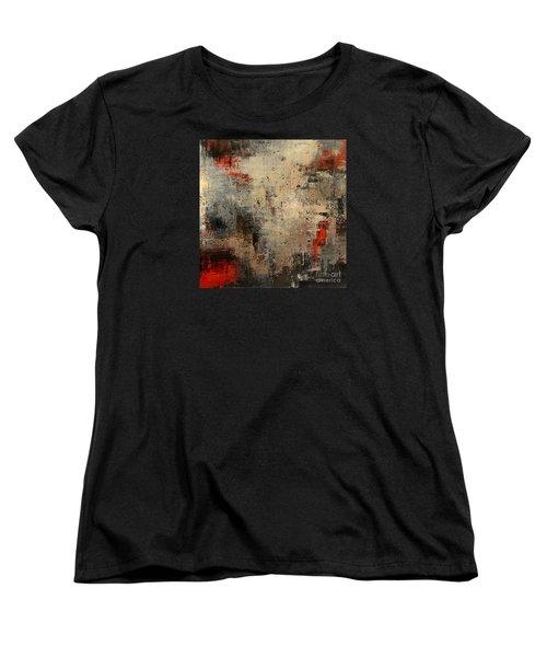 Women's T-Shirt (Standard Cut) featuring the painting Wreckage by Tatiana Iliina