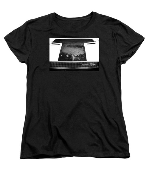 Women's T-Shirt (Standard Cut) featuring the photograph Wrinkled by Caitlyn Grasso