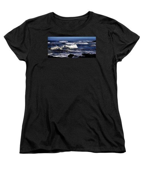 Yachats Bay Women's T-Shirt (Standard Cut)