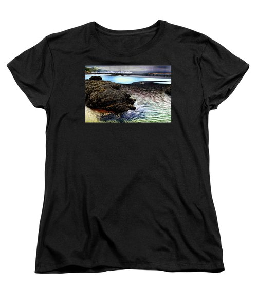 Yaquina Dream Women's T-Shirt (Standard Cut) by Mick Anderson