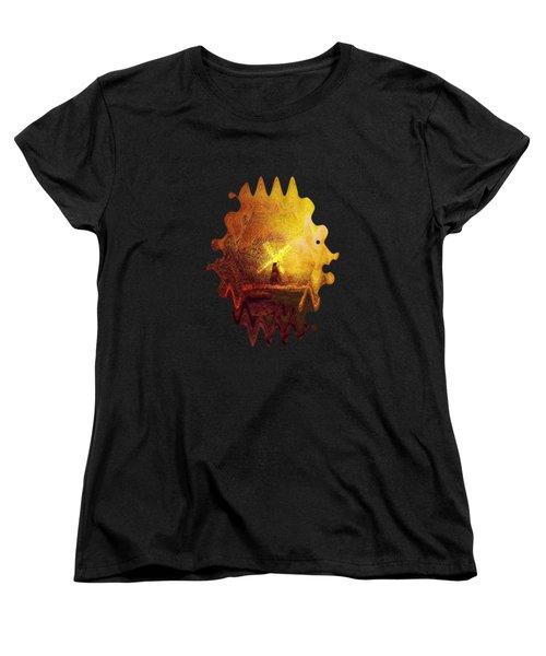 Ye Olde Mill Women's T-Shirt (Standard Cut) by Valerie Anne Kelly