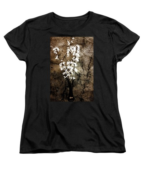 Women's T-Shirt (Standard Cut) featuring the photograph Yellow Bells by Gray  Artus