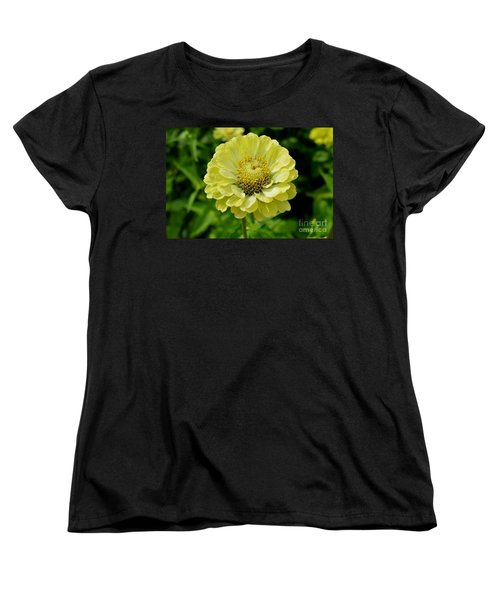 Women's T-Shirt (Standard Cut) featuring the photograph Yellow On Yellow by Lew Davis