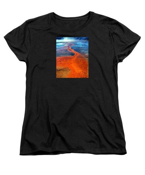 Yellowstone 1 Women's T-Shirt (Standard Cut) by David Gilbert