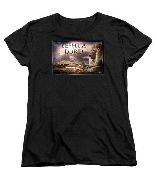 Yeshua Is Lord Women's T-Shirt (Standard Cut) by Bill Stephens