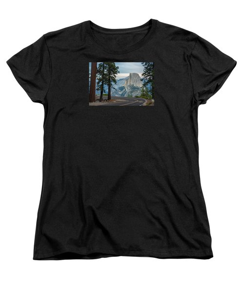 Yosemite Glacier Point Women's T-Shirt (Standard Cut) by Jonas Wehbrink