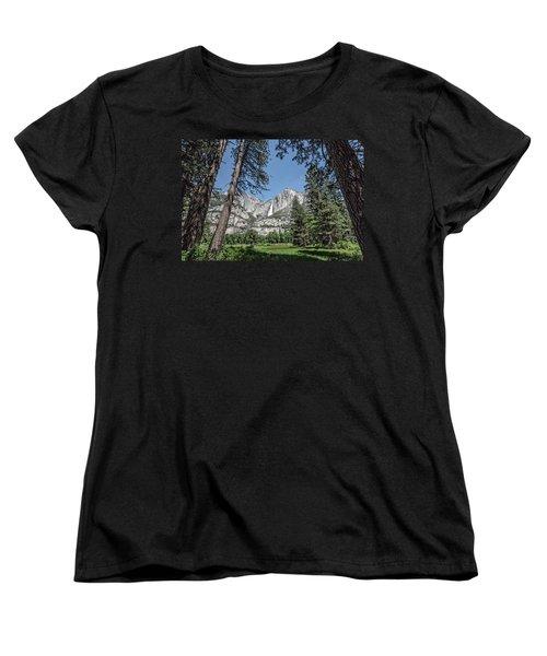 Yosemite View 13 Women's T-Shirt (Standard Cut) by Ryan Weddle