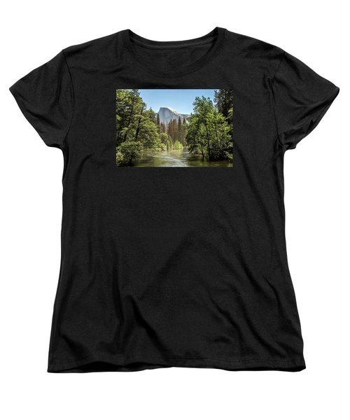 One Valley View Women's T-Shirt (Standard Cut) by Ryan Weddle