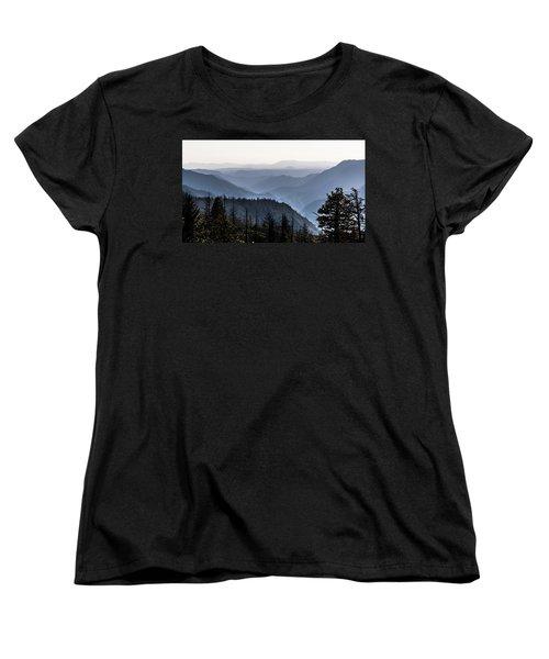 Yosemite View 27 Women's T-Shirt (Standard Cut) by Ryan Weddle