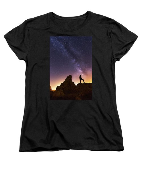 You Cant Take The Sky From Me Women's T-Shirt (Standard Cut) by Tassanee Angiolillo
