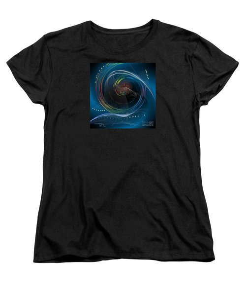 Women's T-Shirt (Standard Cut) featuring the digital art Your Song by Leo Symon