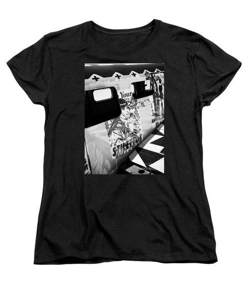 Women's T-Shirt (Standard Cut) featuring the photograph Your Stilletos by Chris Dutton