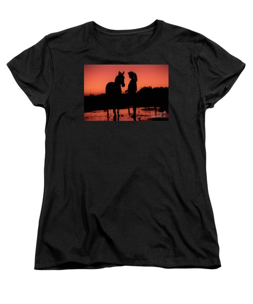 Women's T-Shirt (Standard Cut) featuring the photograph Youth by Jim and Emily Bush