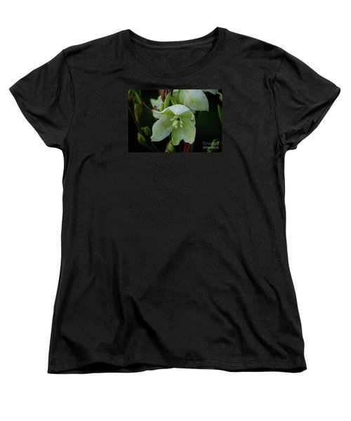 Women's T-Shirt (Standard Cut) featuring the photograph Yucca by Randy Bodkins