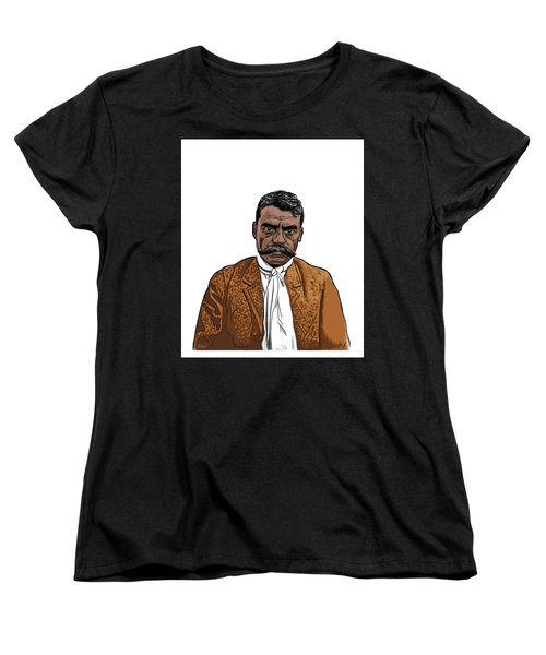 Zapata Women's T-Shirt (Standard Cut) by Antonio Romero