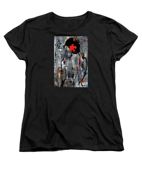 Zen Bath Women's T-Shirt (Standard Cut) by Tom Fedro - Fidostudio