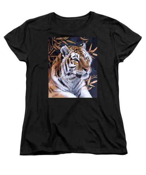 Zen Too Women's T-Shirt (Standard Cut) by Sandi Baker
