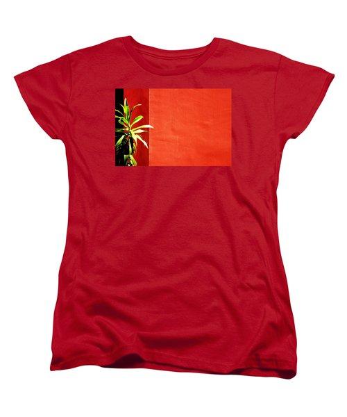 Challenging Circumstances Women's T-Shirt (Standard Cut) by Prakash Ghai