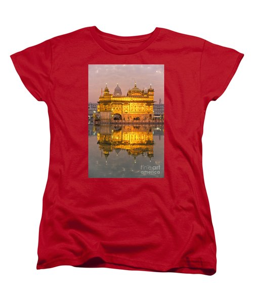 Golden Temple In Amritsar - Punjab - India Women's T-Shirt (Standard Cut) by Luciano Mortula