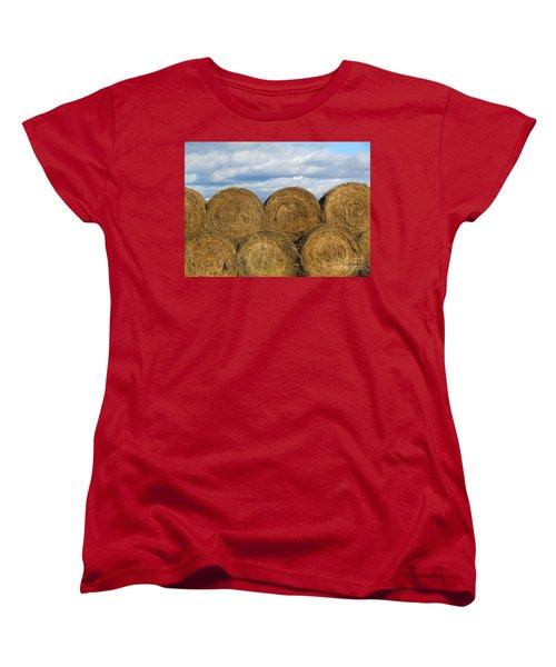 Hay  Women's T-Shirt (Standard Cut) by France Laliberte