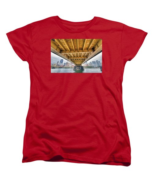 0309 Pittsburgh 4 Women's T-Shirt (Standard Cut) by Steve Sturgill