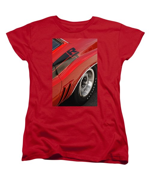 Women's T-Shirt (Standard Cut) featuring the photograph 1970 Dodge Challenger R/t by Gordon Dean II