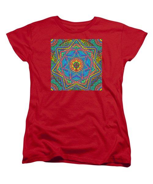 1 26 2014 Women's T-Shirt (Standard Cut) by Hidden  Mountain