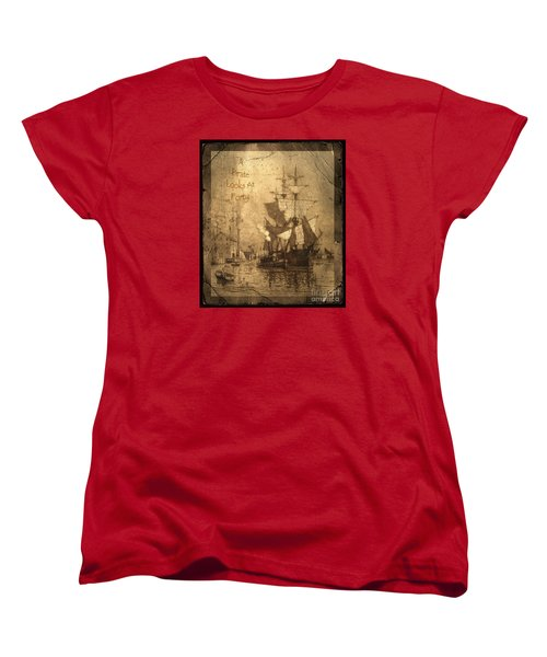 A Pirate Looks At Forty Women's T-Shirt (Standard Cut)