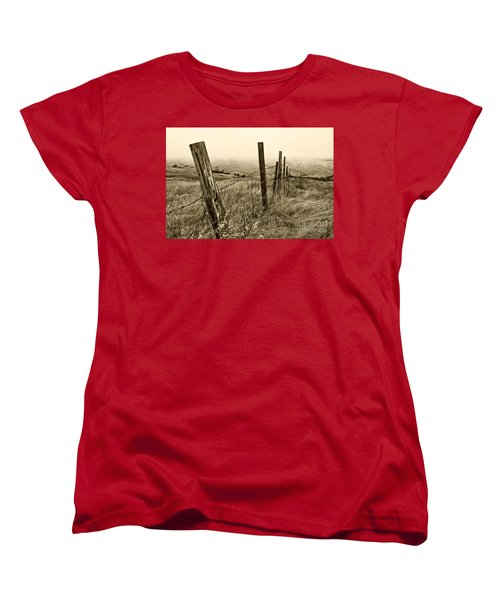 Bay Hill Road Women's T-Shirt (Standard Cut) by Roselynne Broussard