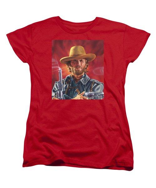 Clint Eastwood Women's T-Shirt (Standard Cut)