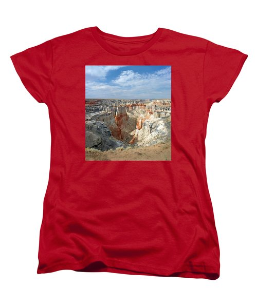 Coal Mine Mesa 14 Women's T-Shirt (Standard Cut) by Jeff Brunton