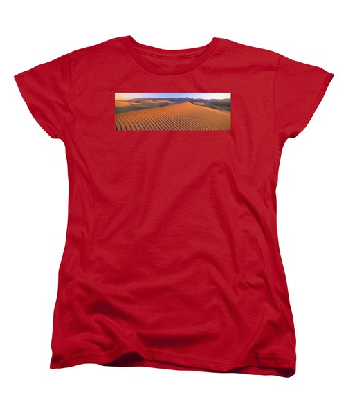 Death Valley National Park, California Women's T-Shirt (Standard Cut) by Panoramic Images