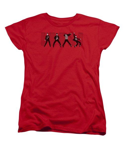Elvis - Jailhouse Rock Women's T-Shirt (Standard Cut) by Brand A