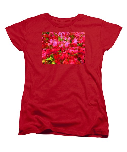 Explosion Of Spring Women's T-Shirt (Standard Cut) by Alys Caviness-Gober