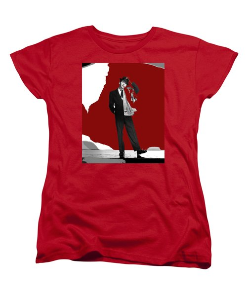 Frank Sinatra Pal Joey Publicity Photo 1957-2014 Women's T-Shirt (Standard Cut) by David Lee Guss