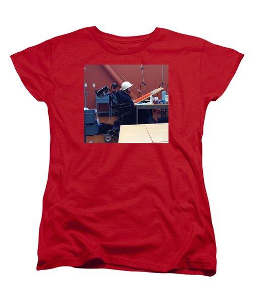 In Studio Women's T-Shirt (Standard Cut) by Donald J Ryker III