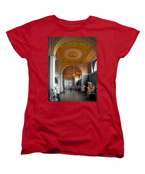 Kopenhavn Carlsberg Glyptotek 08 Women's T-Shirt (Standard Cut) by Jeff Brunton