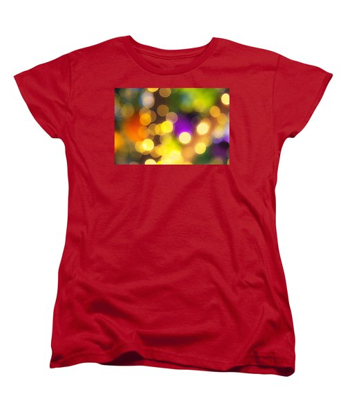 Light Circles Women's T-Shirt (Standard Cut) by Susan Stone