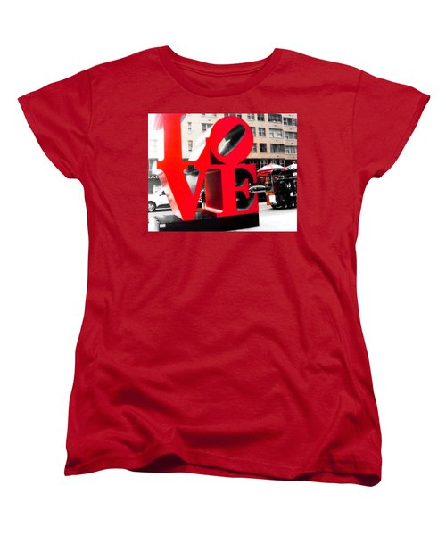 Women's T-Shirt (Standard Cut) featuring the photograph Love by J Anthony