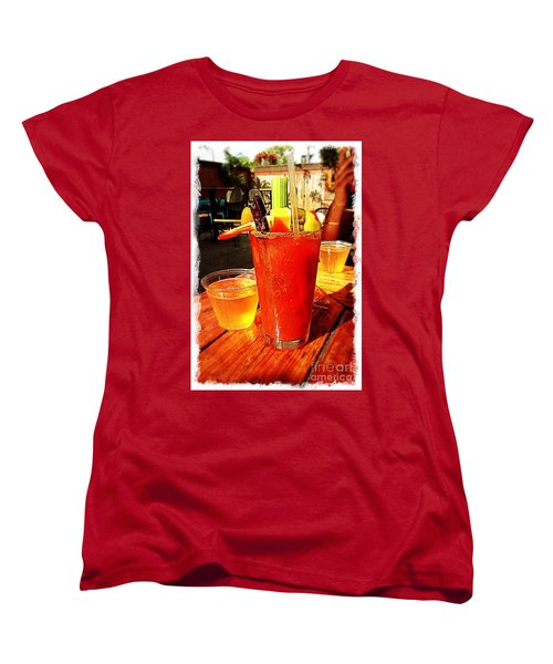 Morning Bloody Women's T-Shirt (Standard Cut) by Perry Webster
