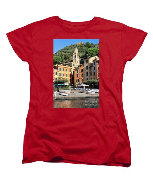 Portofino Women's T-Shirt (Standard Cut) by Antonio Scarpi